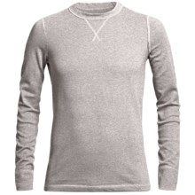 Narragansett Trader Waffled Thermal Cotton Shirt - Long Sleeve (For Men) in Light Heather Grey - Closeouts