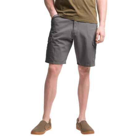 Narragansett Traders Cargo Shorts (For Men) in Charcoal Grey - Closeouts