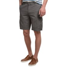 Narragansett Traders Cargo Shorts (For Men) in Charcoal - Closeouts