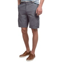 Narragansett Traders Cargo Shorts (For Men) in Dark Grey - Closeouts
