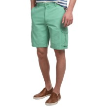 Narragansett Traders Cargo Shorts (For Men) in Light Green - Closeouts