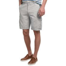 Narragansett Traders Cargo Shorts (For Men) in Light Grey - Closeouts