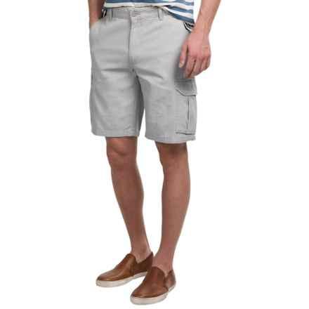 Narragansett Traders Cargo Shorts (For Men) in Light Grey - Closeouts