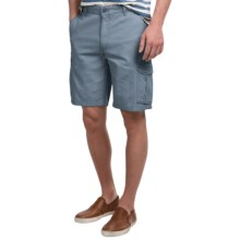 Narragansett Traders Cargo Shorts (For Men) in Slate Blue - Closeouts