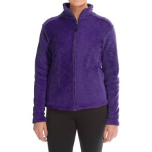Narragansett Traders Fleece Jacket (For Women) in Purple - Closeouts