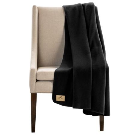 "Narragansett Traders Oversized Fleece Throw Blanket - 60x80"" in Black"
