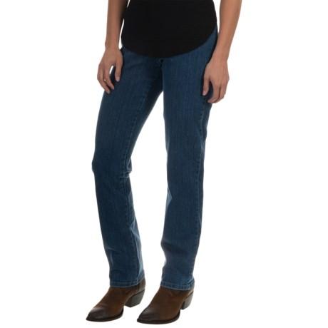 Narrow Leg Jeans - Slimming Waistband (For Women)