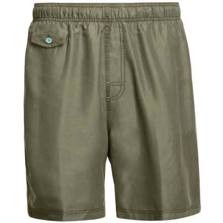 Nat Nast All Day, Every Day Swim Trunks (For Men) in Liberty Green - Closeouts