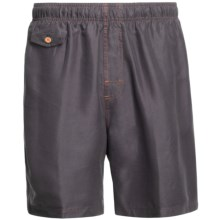 Nat Nast All Day, Every Day Swim Trunks (For Men) in Seagull Grey - Closeouts