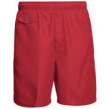 Nat Nast All Day, Every Day Swim Trunks (For Men) in Signal Red - Closeouts