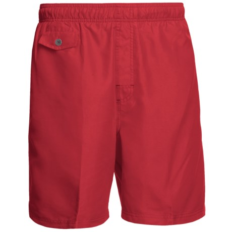 Nat Nast All Day, Every Day Swim Trunks (For Men) in Signal Red