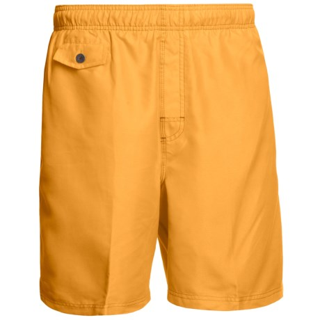 Nat Nast All Day, Every Day Swim Trunks (For Men) in Sunset Yellow