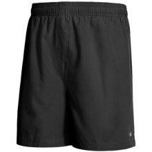 Nat Nast All Day, Every Day Volley Swim Shorts (For Men) in 001 Black - Closeouts