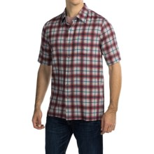 Nat Nast Austin Shirt - Silk-Cotton, Short Sleeve (For Men) in Blue Moon - Closeouts