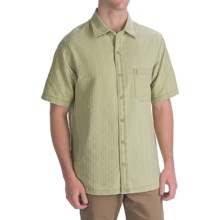 Nat Nast Baja Silk-Cotton Camp Shirt - Short Sleeve (For Men) in Aloe - Closeouts