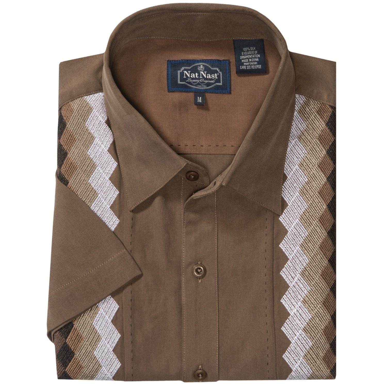 bd27aa90 Nat Nast Casablanca Camp Shirt (For Men) 7528A 41 on PopScreen