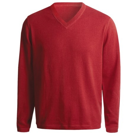Nat Nast Clubhouse Double Standard Sweater (For Men) in Chili Pepper/Gravel