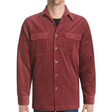 Nat Nast Corduroy Shirt Jacket - 10-Wale (For Men) in Pinot - Closeouts