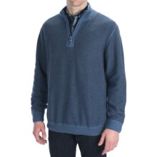 Nat Nast Detour Pullover - Zip Neck (For Men) in Blue Steel Combo - Closeouts
