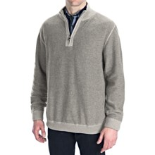 Nat Nast Detour Pullover - Zip Neck (For Men) in Silver Birch Combo - Closeouts