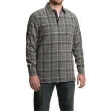 Nat Nast Easy Living Shirt - Silk Blend, Long Sleeve (For Men) in Mineral - Closeouts