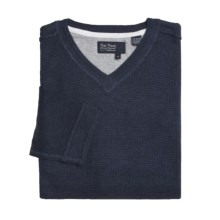 Nat Nast Good Life Sweater - V-Neck (For Men) in Navel Blue - Closeouts