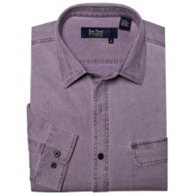 Nat Nast Havana Cloth Sport Shirt - Silk-Cotton, Long Sleeve (For Men) in Nightshade Purple Combo - Closeouts