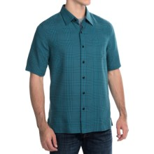 Nat Nast Houndog Shirt - Silk-Cotton, Short Sleeve (For Men) in Blue Moon - Closeouts