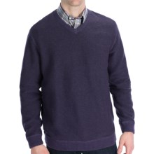 Nat Nast In the Mix Sweater (For Men) in Nightshade Purple Combo - Closeouts