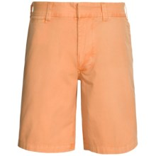 Nat Nast Malibu Shorts - Flat Front (For Men) in 693 Orange - Closeouts