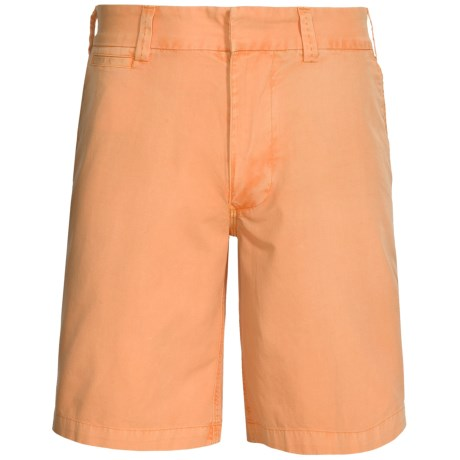 Nat Nast Malibu Shorts - Flat Front (For Men) in 693 Orange