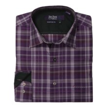Nat Nast Perfect Plaid Sport Shirt - Cotton, Long Sleeve (For Men) in Eggplant - Closeouts