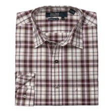 Nat Nast Plaid About You Sport Shirt - Cotton, Long Sleeve (For Men) in Pinot - Closeouts