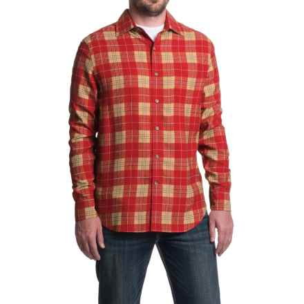Nat Nast Scoundrel Plaid Silk Twill Shirt - Long Sleeve (For Men) in Holly - Closeouts