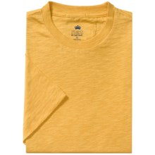Nat Nast Sea Worthy T-Shirt - Short Sleeve (For Men) in Sunset Yellow - Closeouts