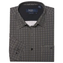 Nat Nast Silk Parker Plaid Sport Shirt - Long Sleeve (For Men) in Evergreen Combo - Closeouts