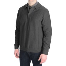 Nat Nast Standing Room Only Sweater - Cotton-Wool (For Men) in Charcoal Combo - Closeouts