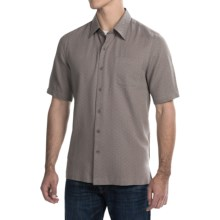 Nat Nast Summer Mist Shirt - Short Sleeve (For Men) in Earth - Closeouts
