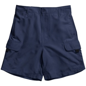 Nat Nast Swim Long Walk Shorts (For Men) in Navy