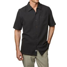 Nat Nast Tangier Cloth Shirt - Short Sleeve (For Men) in Black - Closeouts