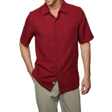 Nat Nast Tangier Cloth Shirt - Short Sleeve (For Men) in Garnet - Closeouts