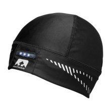 Nathan DomeLight Running Beanie Hat (For Men and Women) in Black - Closeouts