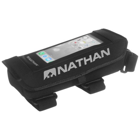 Nathan GigaBite Nutrition Box with Phone Case in Black