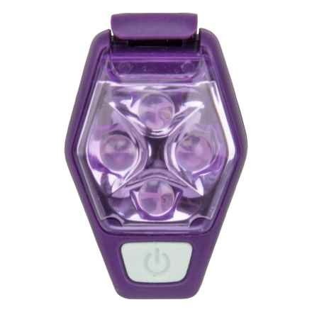 Nathan HyperBrite Strobe Light - 16 Lumens in Imperial Purple - Closeouts