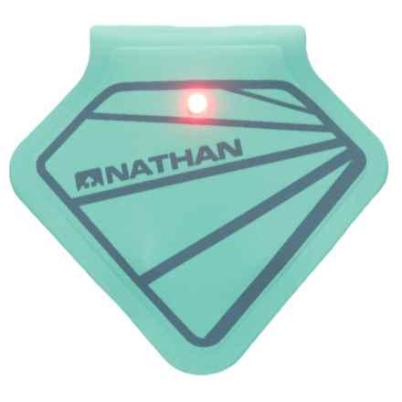 Nathan Mag Strobe LED Clip Light - 2 Lumens in Cockatoo/Bluestone - Closeouts