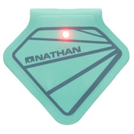 Nathan Mag Strobe LED Clip Light - 2 Lumens in Cockatoo/Bluestone