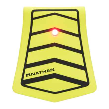 Nathan Mag Strobe LED Clip Light - 2 Lumens in Safety Yellow/Black - Closeouts