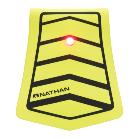 Nathan Mag Strobe LED Clip Light - 2 Lumens in Safety Yellow/Black