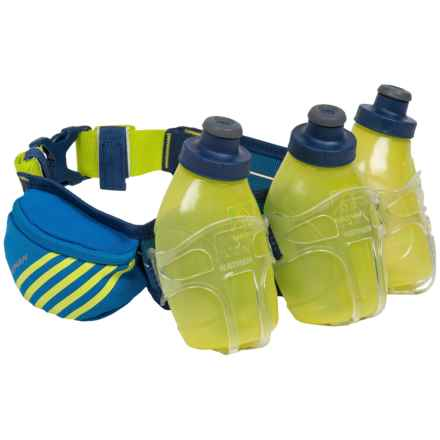 Nathan Mercury 3 Hydration Belt - 30 fl.oz., BPA-Free in Nathan Blue - Closeouts