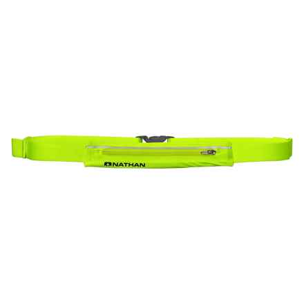 Nathan Mirage Running Belt Pack in Hi-Viz Safety Yellow - Overstock